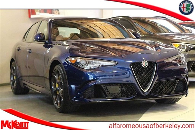 New 2019 Alfa Romeo Giulia Quadrifoglio Sedan In Berkeley K7599163