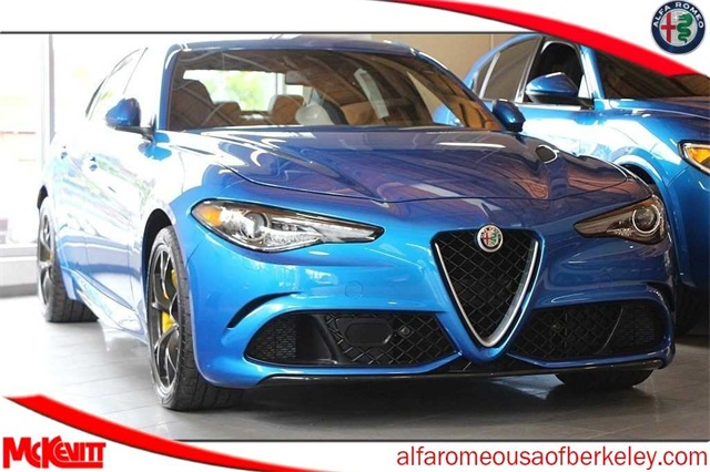New 2019 Alfa Romeo Giulia Quadrifoglio Sedan In Berkeley K7599130